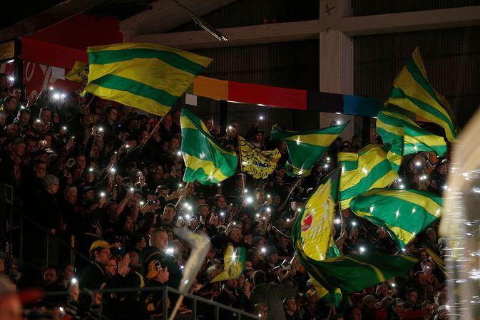 Ilves-kannattajien joukkorahoitustempaus onnistui odotusten mukaan. Kuva: Jukka Rautio / Europhoto