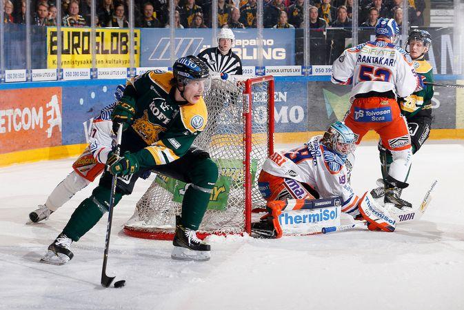 Ilves odottaa Otto Koivulaa takaisin riviin todennäköisesti ensi viikoksi. Kuva: Jukka Rautio / Europhoto
