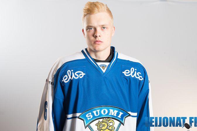 Joona Koppanen pelaa NHL-sopimuksesta huolimatta ensi kaudella liigajäillä. Kuva: Leijonat.fi