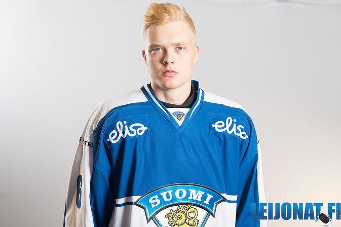 Joona Koppanen voitti vuosi sitten alle 18-vuotiaiden MM-kultaa. Kuva: Leijonat.fi