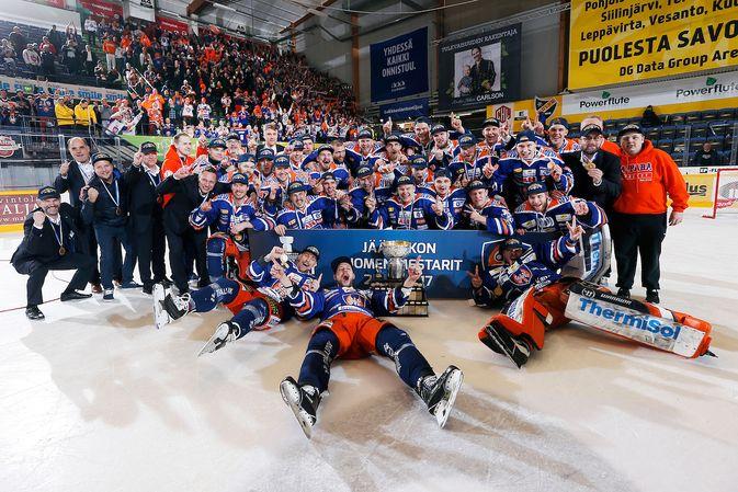 Tapparan kaksi edellistä kevättä ovat päättyneet Suomen mestaruuteen. Kuva: Jukka Rautio / Europhoto