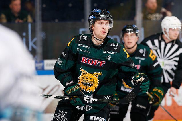 Michael Keränen oli Ilveksen ykköstykki tappio-ottelussa. Kuva: Jukka Rautio / Europhoto