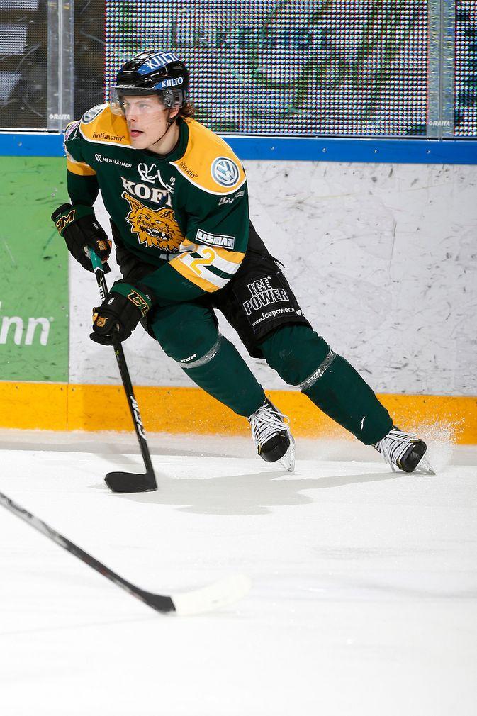 Otto Koivula on neljän ottelun pisteputkessa. Kuva: Jukka Rautio / Europhoto