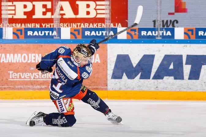 Kristian Kuusela oli SM-liigan edelliskauden pistekuningas. Kuva: Jukka Rautio / Europhoto