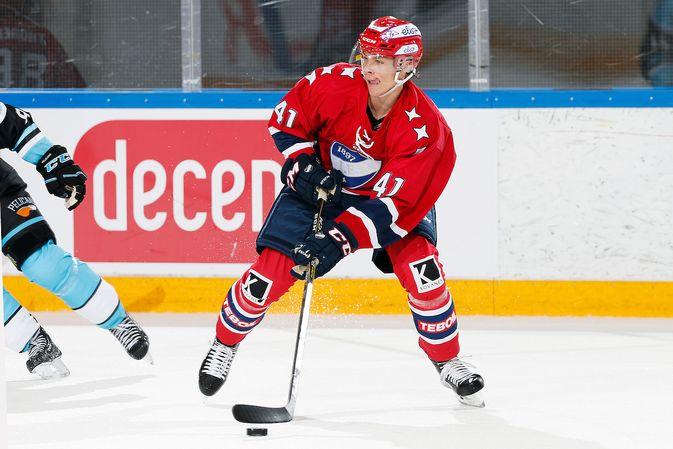 Miro Heiskanen on HIFK:n ykköspuolustaja. Kuva: Jukka Rautio / Europhoto