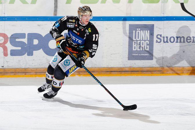 Mika Pyörälä teki vuoden 2016 aikana eniten tehopisteitä. Kuva: Jukka Rautio / Europhoto