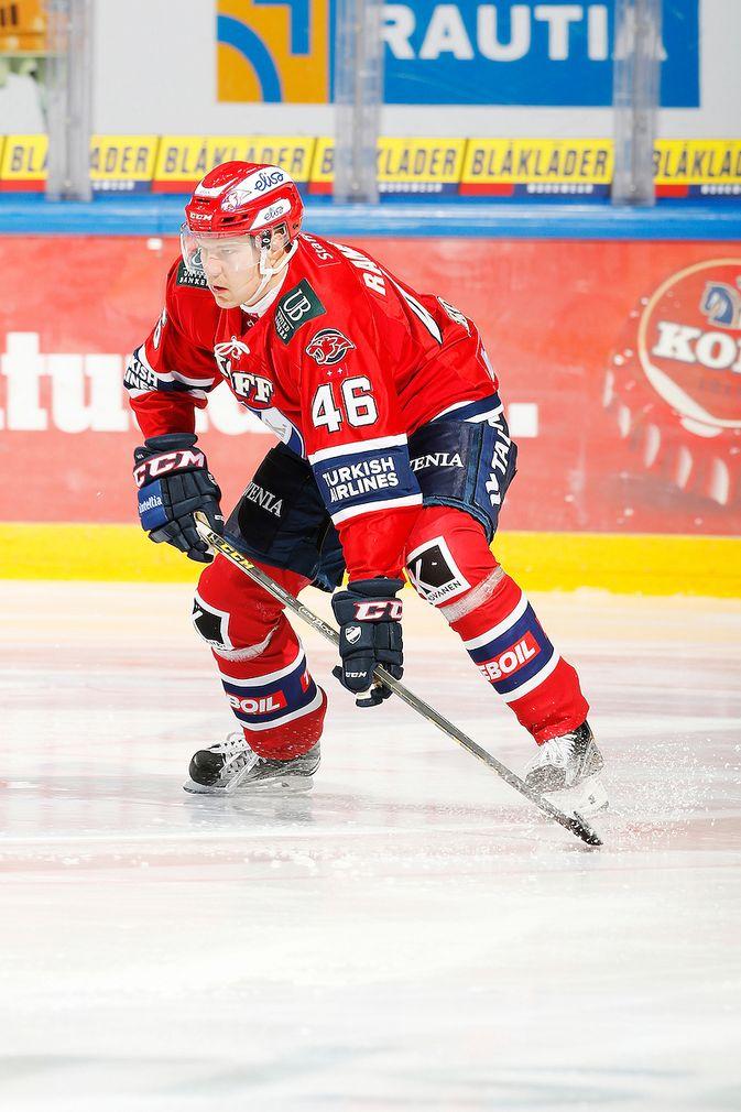 Teemu Ramstedt pelasi kotimaista pääsarjaa viimeksi kaudella 2015-16 HIFK:n riveissä. Kuva: Jukka Rautio / Europhoto