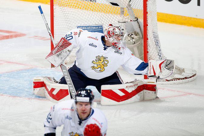 Harri Säteri on tuttu näky leijonapaidassa. Kuva: Jukka Rautio / Europhoto