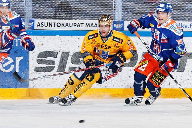 Zach Budish jatkanee Jukurien kultakypäränä toisenkin kauden. Kuva: Jukka Rautio / Europhoto