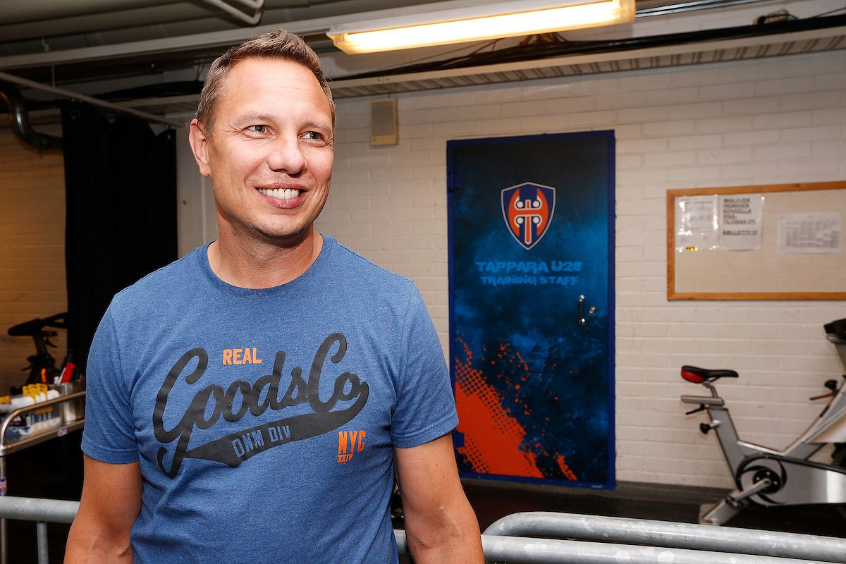 Jussi Tapola on ollut töissä Tapparan organisaatiossa vuodesta 2012. Kuva: Jukka Rautio / Europhoto