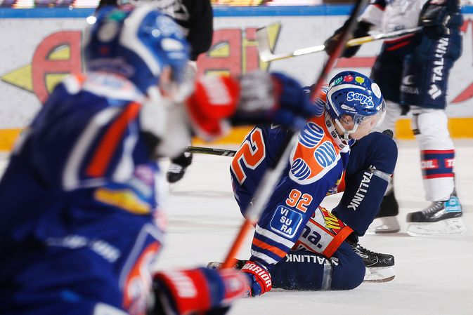 Sebastian Repo tuuletti ottelun voittomaaliksi jäänyttä 1-0-osumaansa. Kuva: Jukka Rautio / Europhoto