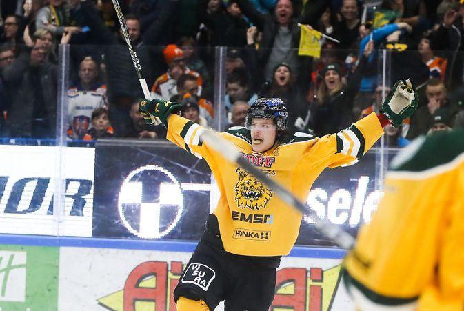 Otto Koivula iski Ilveksen ottelusarjassa 2-1-johtoon. Kuva: Europhoto