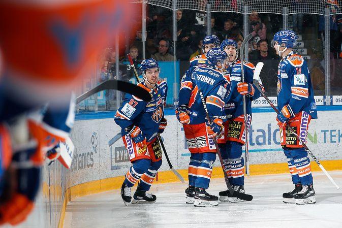 Tomas Zaborskyn 2-1-osuma jäi ottelun voittomaaliksi. Kuva: Jukka Rautio / Europhoto