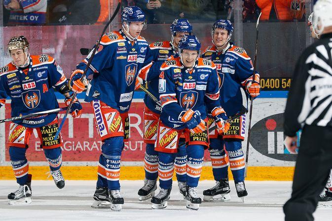 Tappara iski Ilvestä vastaan peräti kahdeksan osumaa. Kuva: Jukka Rautio / Europhoto