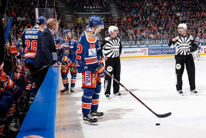 Sebastian Repo ei ole saanut finaalisarjassa vielä maalihanojaan auki. Kuva: Jukka Rautio / Europhoto