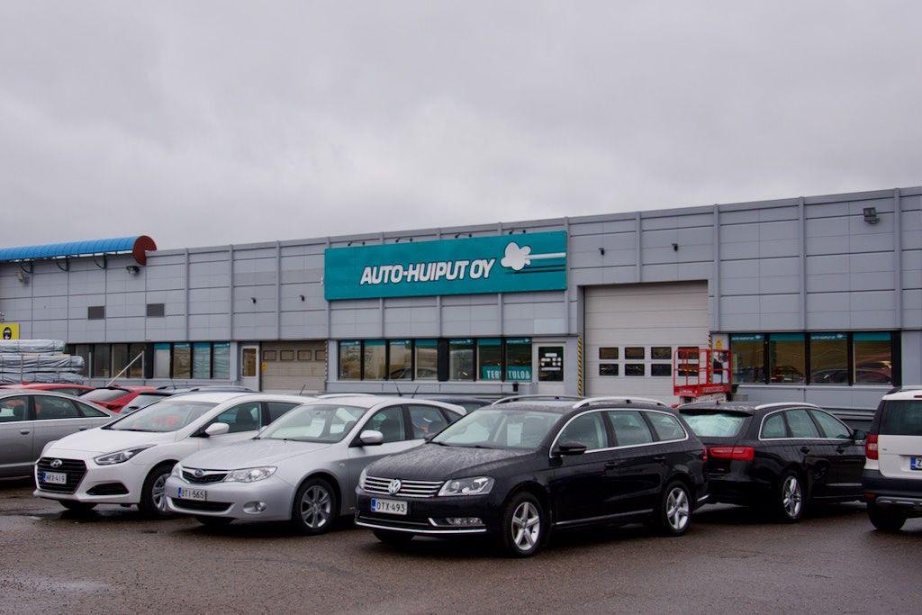 Auto-Huiput Oy on laajentanut myymäläverkostoaan