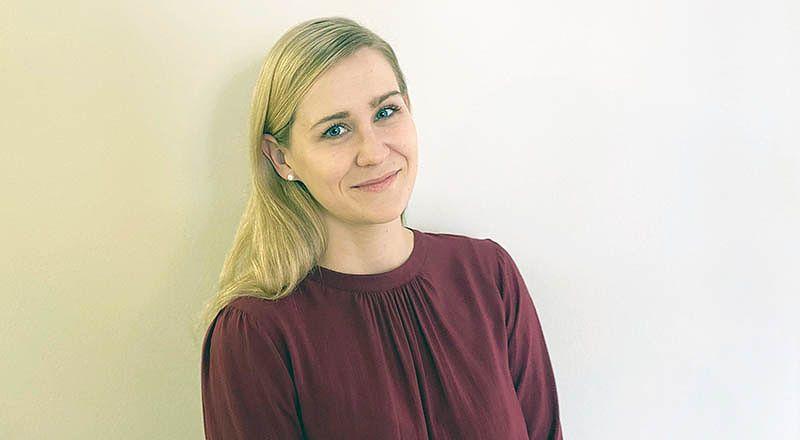 Elos företagsspecialist Kristiina Sandén