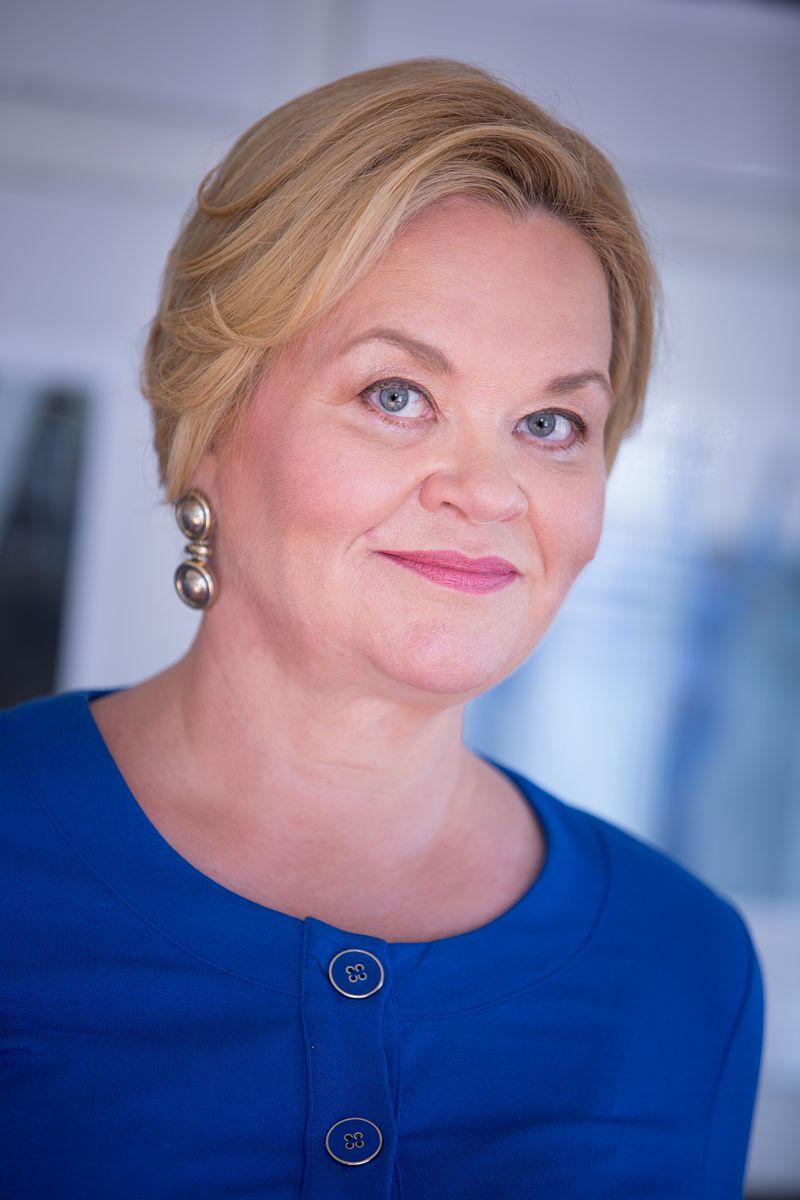 Cristina Andersson on Robotics Finland -edistäjä