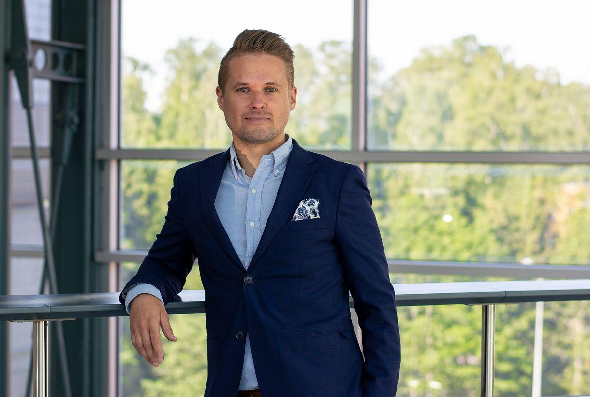 Joonas Jaatinen johtaa Sofigaten SAP-liiketoimintaa.