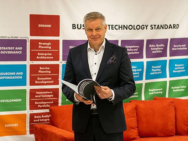 Juha Huovinen, Sofigaten perustaja ja hallituksen puheenjohtaja.