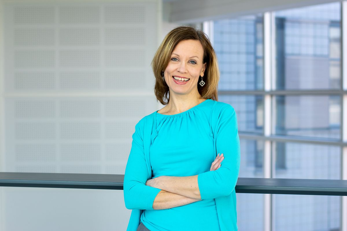 Business Technology Forumin johtaja Katri Kolesnik