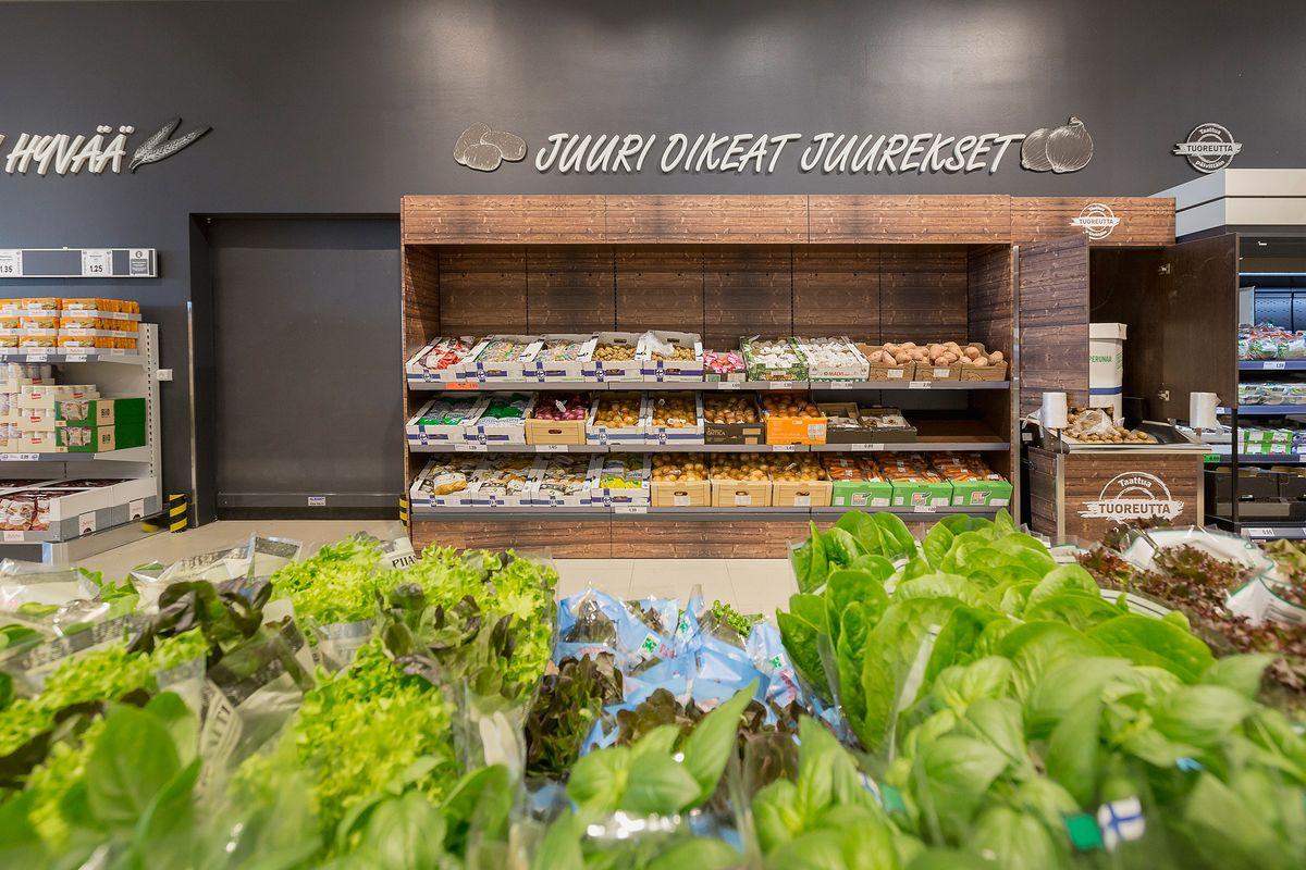 Lidl luo Citycenterin myymälään täysin uudenlaisen tyylikkään ilmeen.
