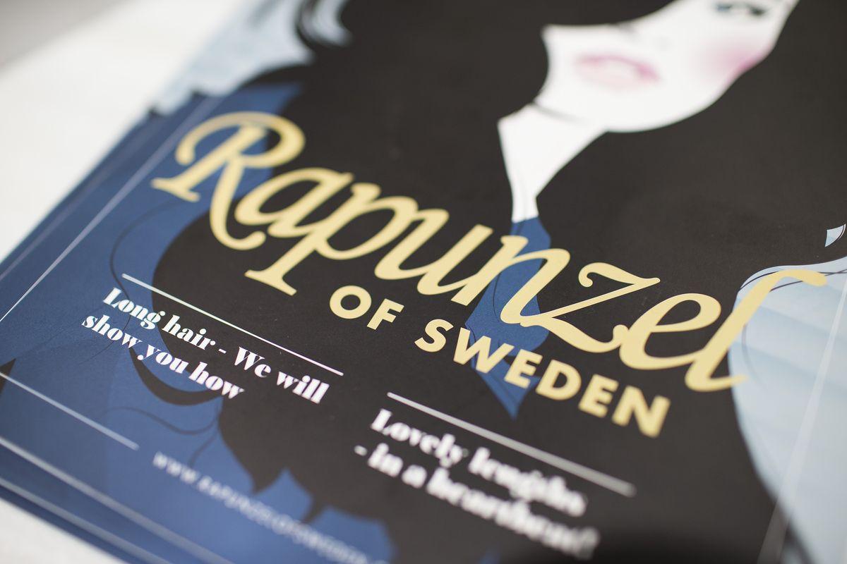 Rapunzel of Sweden -hiustuotteita