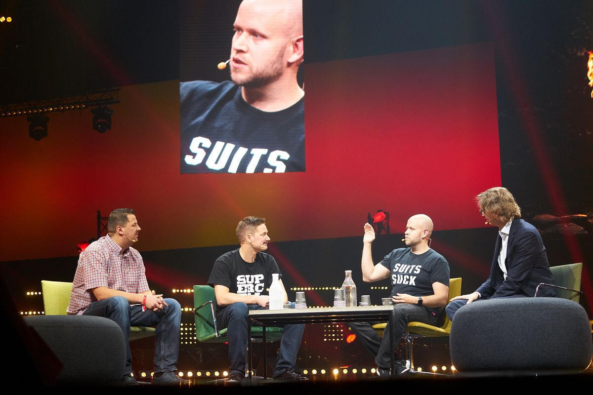 Slush: Spotifyn Daniel Ek lähikuvassa