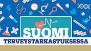 Logo: Suomi Terveystarkastuksessa 18.7.