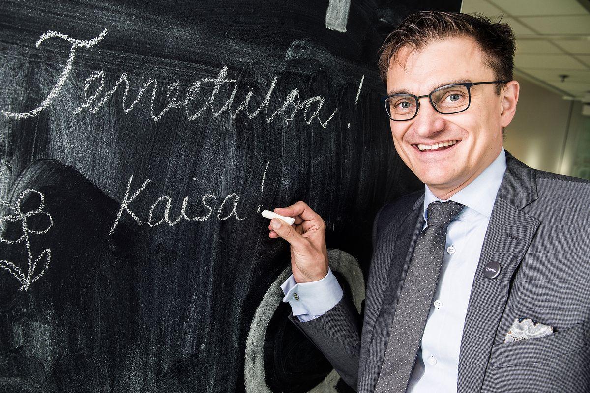Innovaatiovaikuttaja Marko Parkkinen puhuu tunteiden merkityksestä johtamisessa.