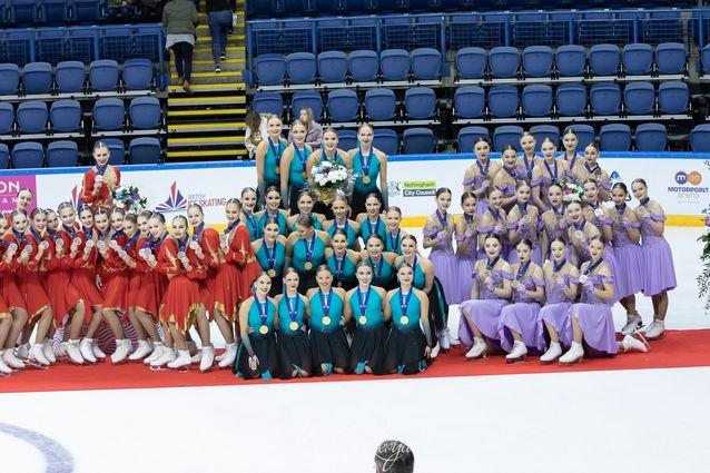 Maailmanmestarit 2020! Team Fintastic voitti muodostelmaluistelun junioreiden maailmanmestaruuden maaliskuussa 2020 Nottinghamissa.