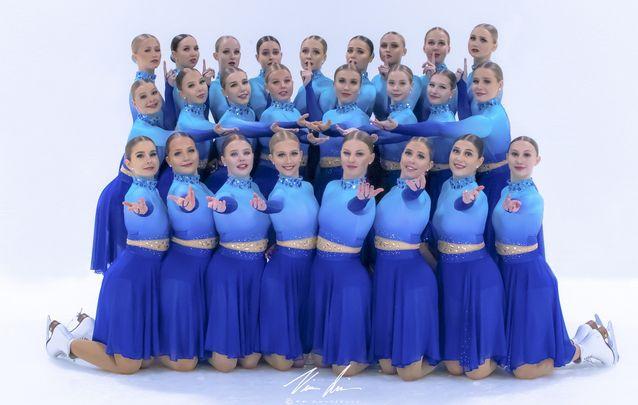 Team Fintastic on Helsingin taitoluisteluklubin SM-juniorijoukkue 2019-2020