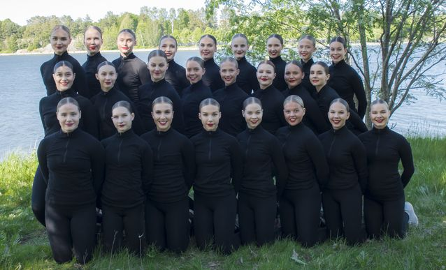 Helsingin taitoluisteluklubin SM-juniorijoukkue Team Fintastic