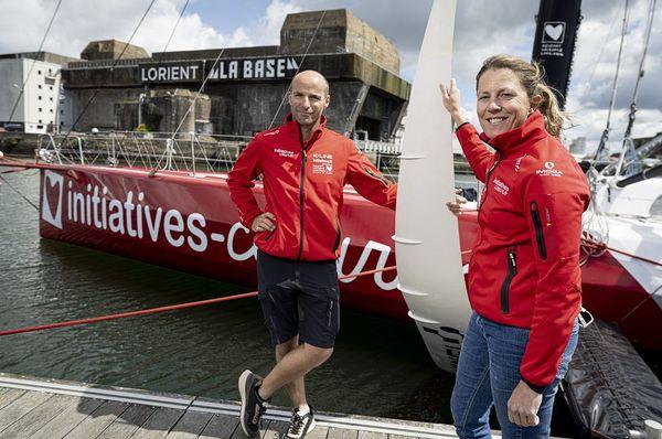 Nicolas Lunven, co-skipper de Sam Davies