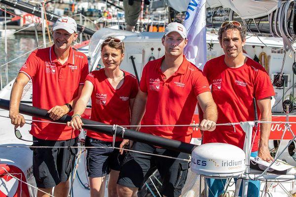 Témoignage de l'équipe Initiatives-cœur qui a ramené le bateau à Lorient