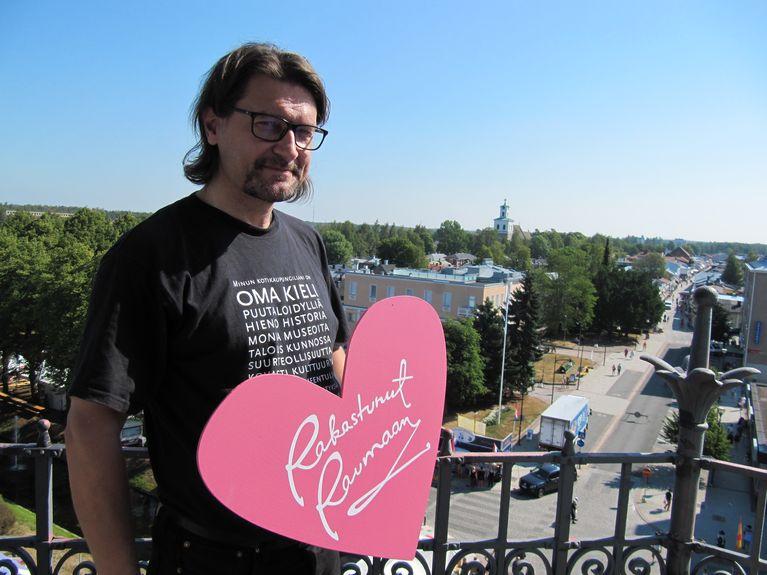 Risto Kupari Kaupungintalon tornissa