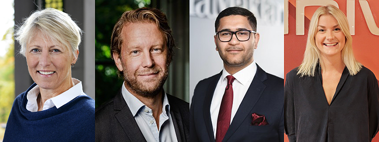Jury för Skandiamäklarna Årets Mäklarstudent 2021