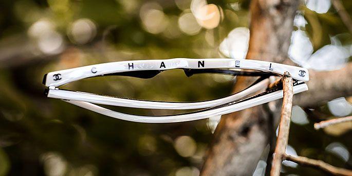 Chanelin kehyksiä myy Silmäoptikot Palmu Raumalla