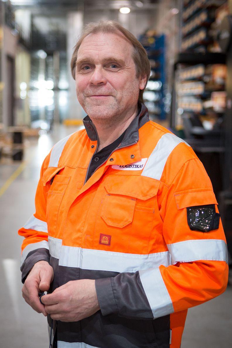 Mika Jalonen, Logistikas Oy