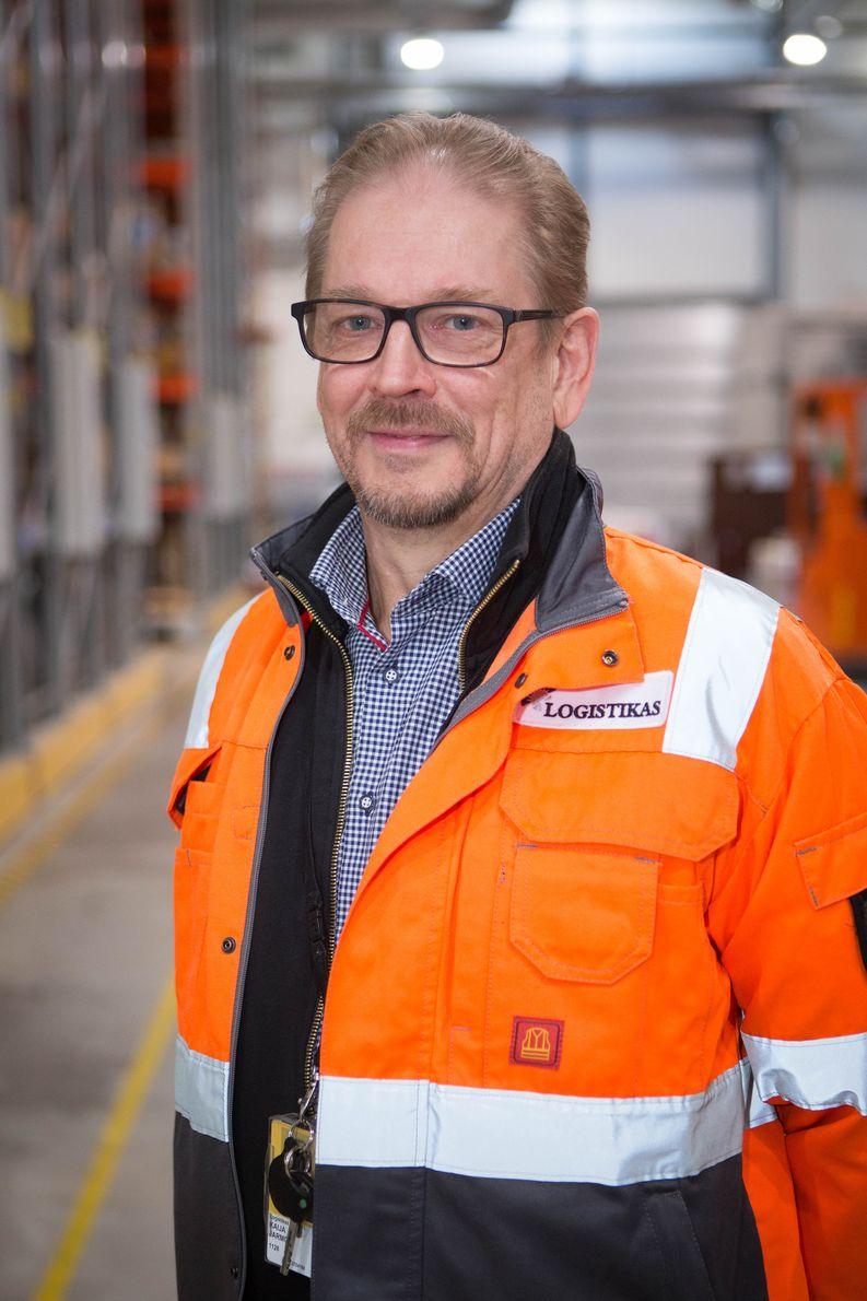 Jarmo Kaija, Logistikas Oy