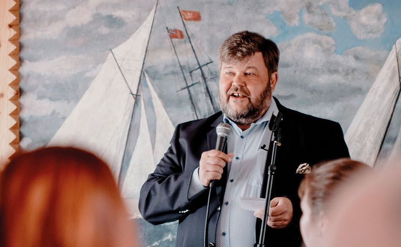 Logistikas Oy:n hallituksen puheenjohtaja Ari Salmi