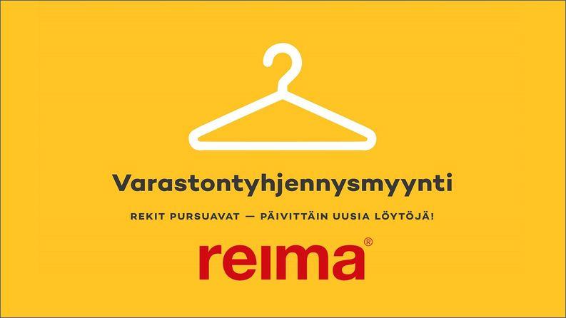 Reiman varastontyhjennysmyynnit Raumalla 6.-9.11.2019