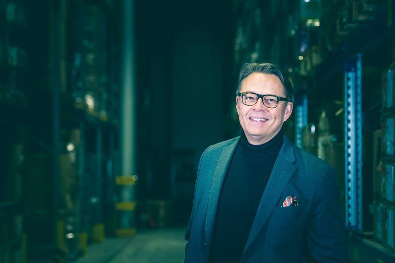 High Peak Finland Oy:n toimitusjohtaja Teijo Virtanen. (Kuva: Elmeri Elo / Viestintäosakeyhtiö Bonde)