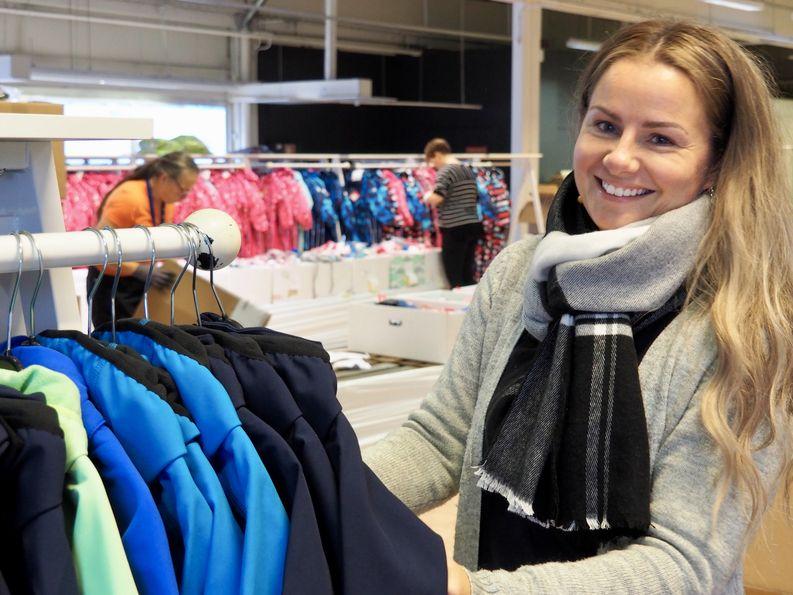 Logistikas Hankinta Oy:n liiketoimintapäällikkö Johanna Lainio