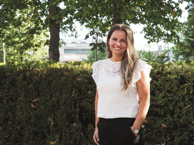 Johanna Lainio, Logistikas Hankinta Oy:n liiketoimintapäällikkö