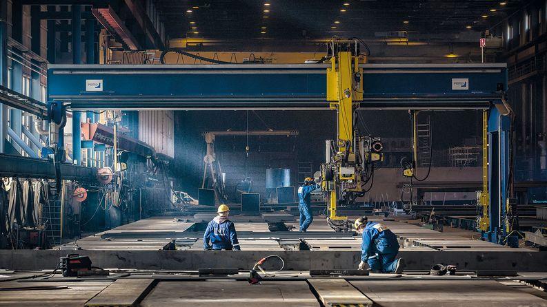 Telakan materiaalinhallinta ja aluelogistiikka on kokonaisuutena Logistikas Oy:n vastuulla.