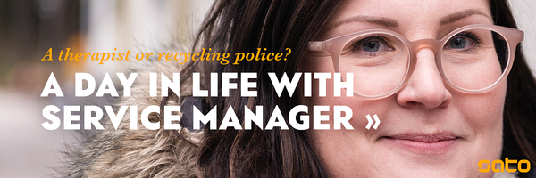 Take a peek at a day in life of SATO Service Manager