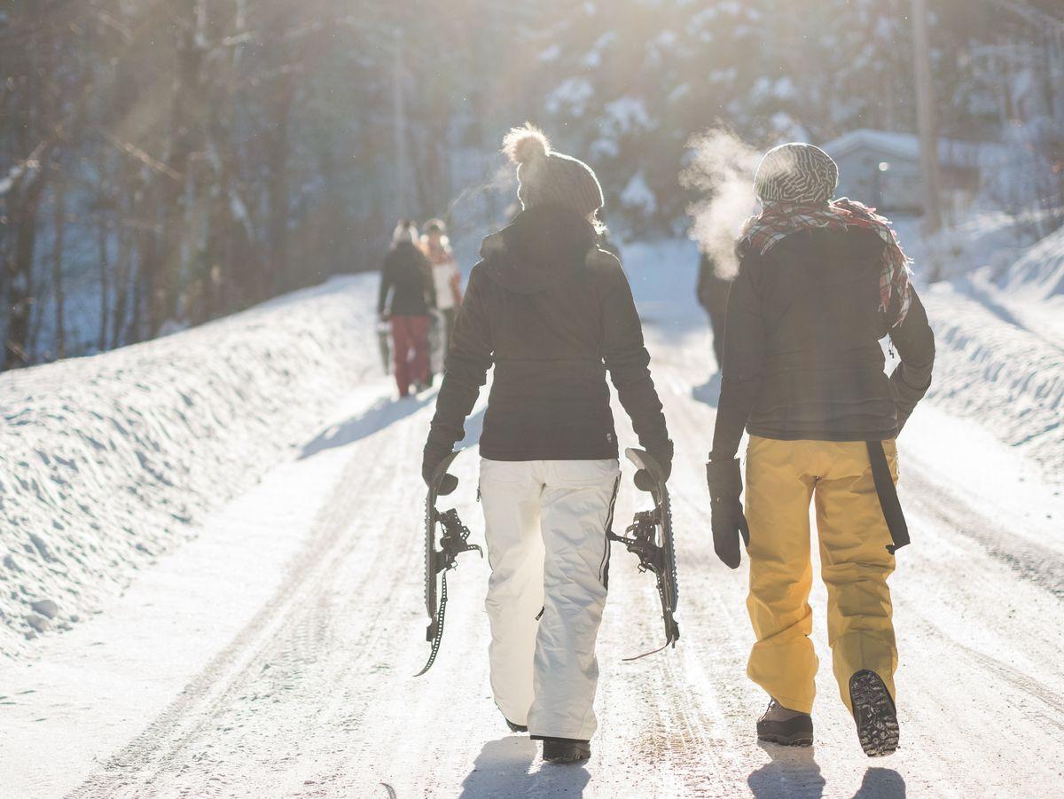 Des vacances au ski entre amis