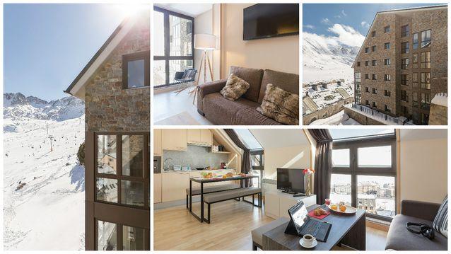nouvelle r sidence pierre vacances en andorre evasionski. Black Bedroom Furniture Sets. Home Design Ideas