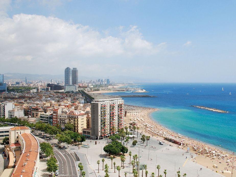 Barcelone en Espagne